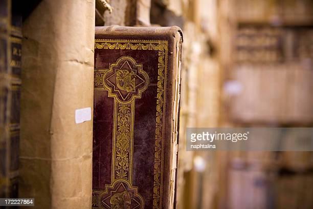 Geschnitzte old Buch
