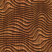 Panel, wall, geometric, carving