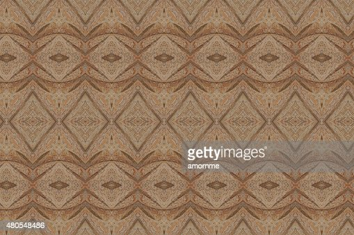 Carved wood wall close : Stock Photo