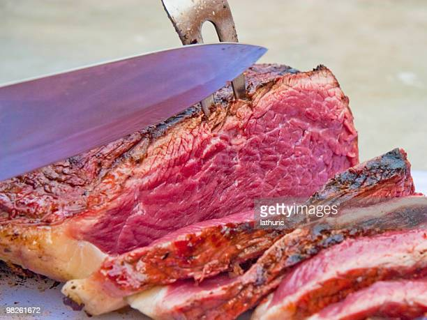 Carving Prime Beef