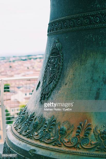 Carvings On Bell Of Leaning Tower Of Pisa
