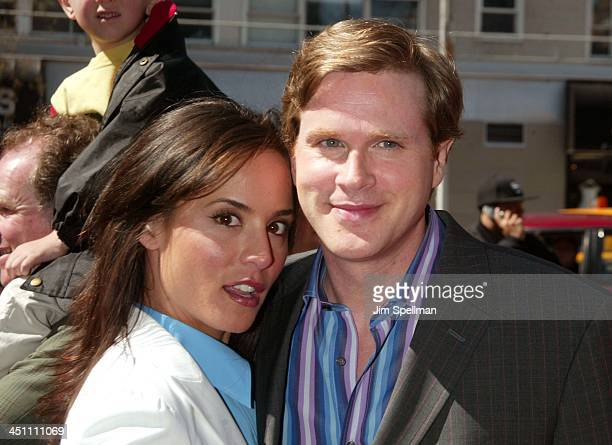 Cary Elwes and wife Lisa Marie during Ella Enchanted New York Premiere Outside Arrivals at Clearview Beekman Theatre in New York City New York United...
