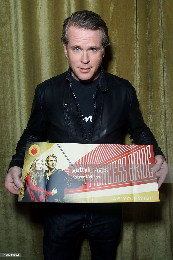 Cary Elwes attends 'As You Wish' Book Signing and Yuletide Cinema Screening of 'The Princess Bride' at Palace Theatre on December 20 2014 in Los...