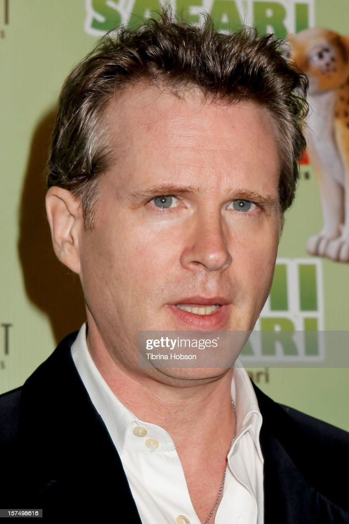 Cary Elwes attends the Delhi Safari Los Angeles premiere at Pacific Theatre at The Grove on December 3, 2012 in Los Angeles, California.