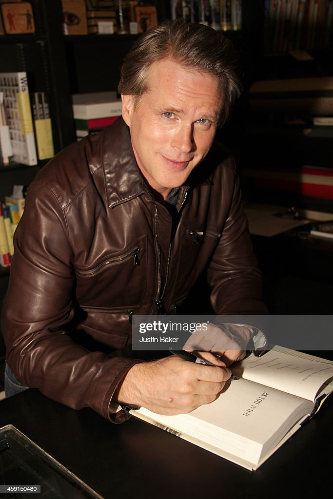 Cary Elwes signs copies of 'As You WishMaking Of Princess Bride' at Book Soup on November 17 2014 in West Hollywood California