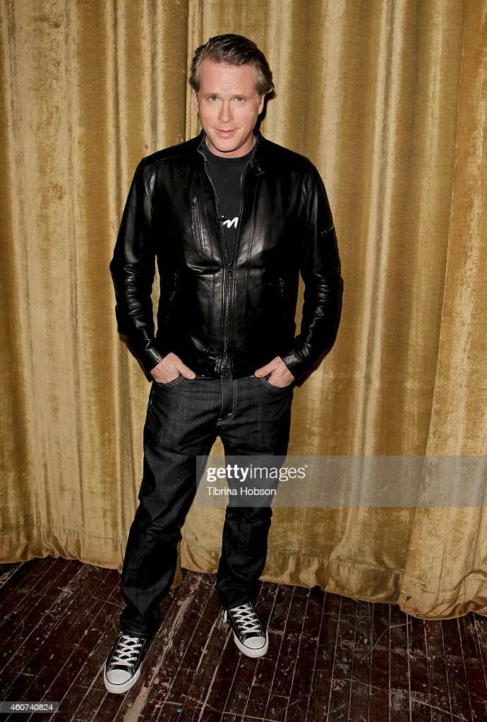 Cary Elwes signs copies of his book 'As You Wish' and attends the yuletide screening of 'The Princess Bride' at Palace Theatre on December 20 2014 in...