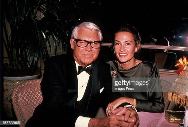 Cary Grant and wife Barbara Harris circa 1981 in New York City