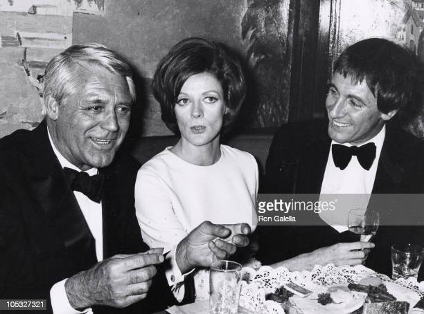 Cary Grant Maggie Smith and guest during 24th Annual Tony Awards at Mark Hellinger Theater in New York City New York United States