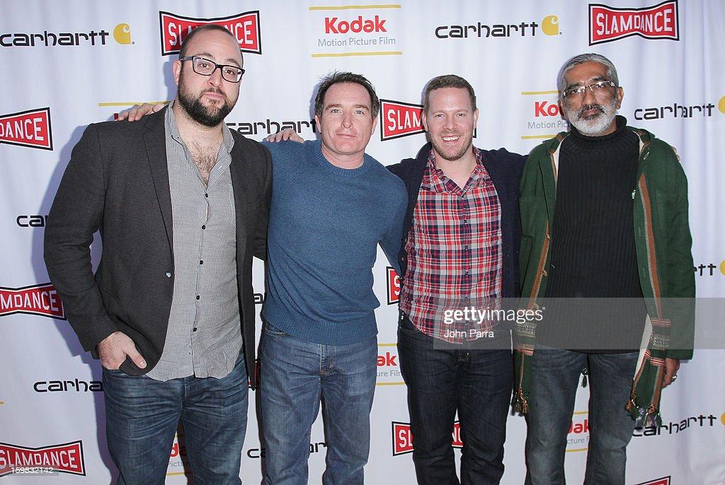 Cary McClell, Billy Smith, Robert Profusek and Imran Babur attend the Slamdance Film Festival at Slamdance Public House on January 20, 2013 in Park City, Utah.