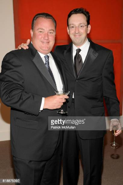Cary Stamp and Randal Sandler attend ALZHEIMER'S DRUG DISCOVERY FOUNDATION Presents The Fourth Annual Connoisseur's Dinner at Sotheby's on April 29...