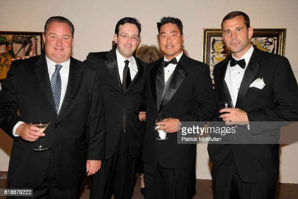 Cary Stamp Randal Sandler Henry Kim and Kevin Bjorkdahl attend ALZHEIMER'S DRUG DISCOVERY FOUNDATION Presents The Fourth Annual Connoisseur's Dinner...