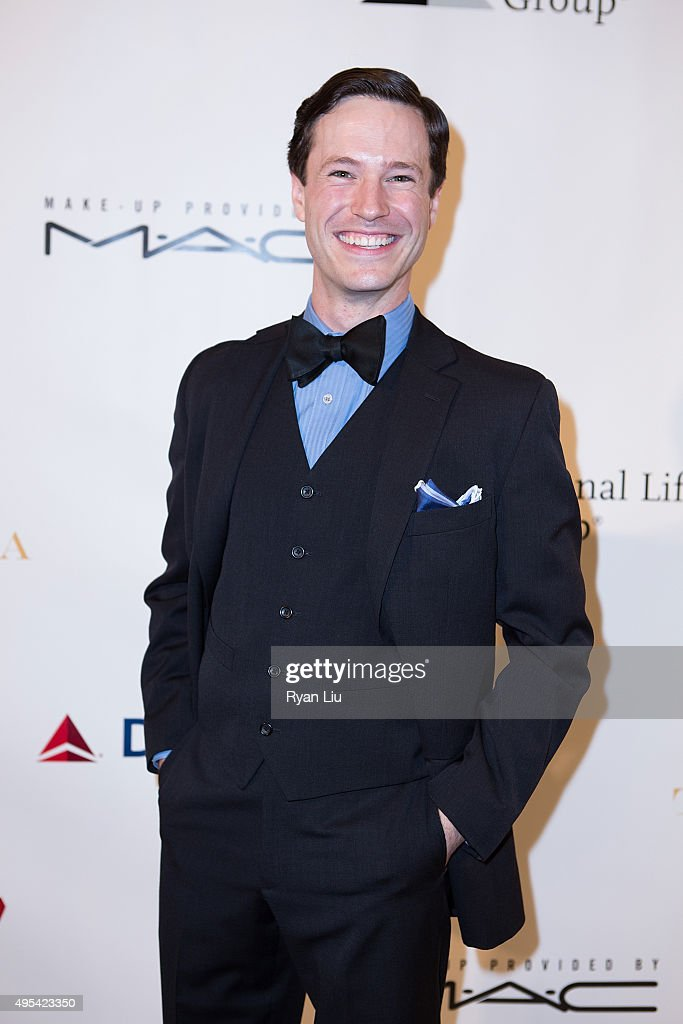 Cary Tedder attends The Drama League's Centennial Celebration Honoring Bernadette Peters at The Plaza Hotel on November 2, 2015 in New York City.