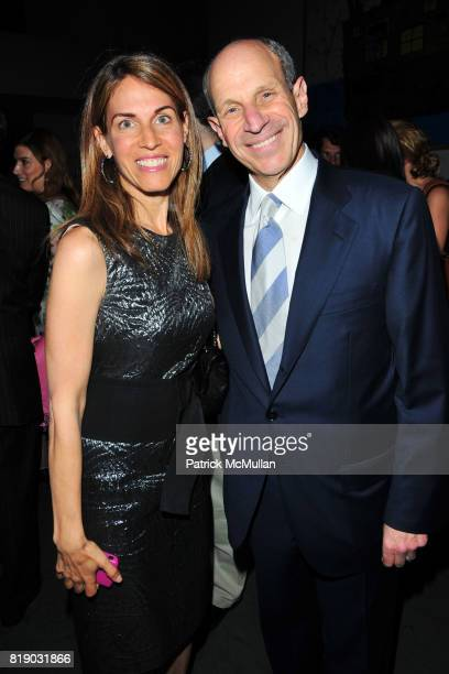 Caryn Zucker and Jonathan Tisch attend JONATHAN TISCH 'Citizen You' Book Launch Party at The Museum of Modern Art on May 6 2010 in New York City
