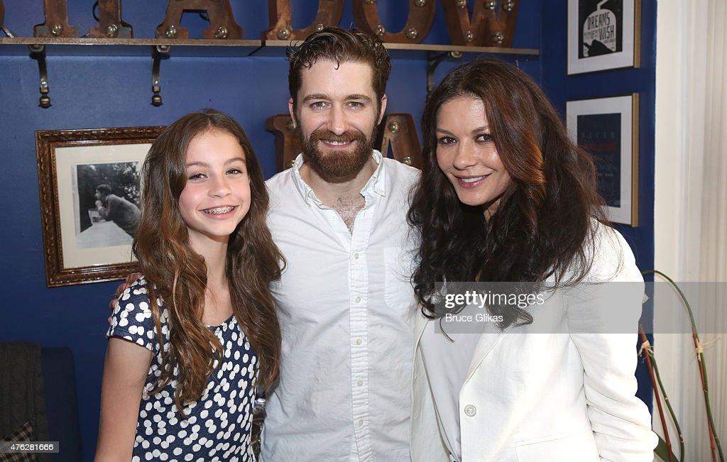 Celebrities Visit Broadway - June 7, 2015