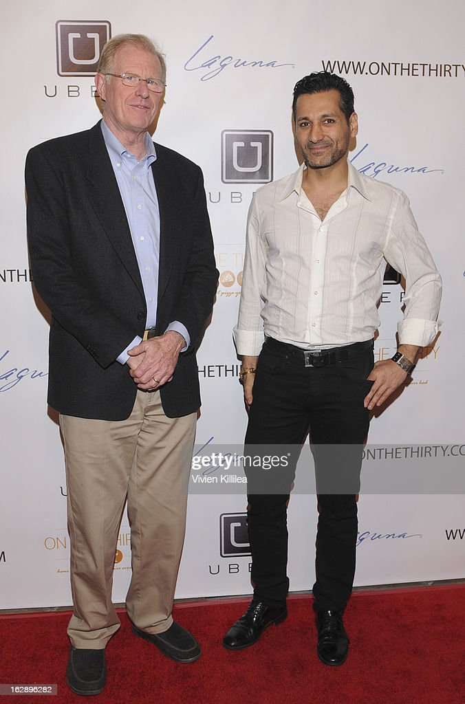 Cas Anvar and Ed Begley Jr. attend 'On The Thirty' Grand Opening at On The Thirty on February 28, 2013 in Sherman Oaks, California.
