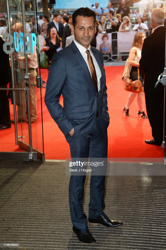 Cas Anvar attends the world premiere of 'Diana' at The Odeon Leicester Square on September 5, 2013 in London, England.