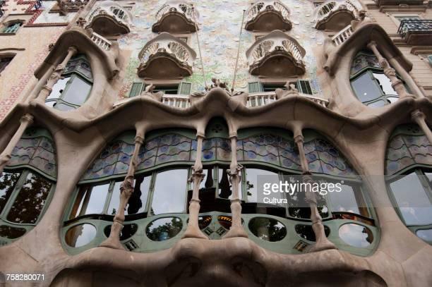 Casa Batllo, by Antoni Gaud, Barcelona, Spain