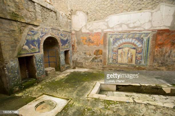 Casa dei Nettuno e Anfitrite, Herculaneum.