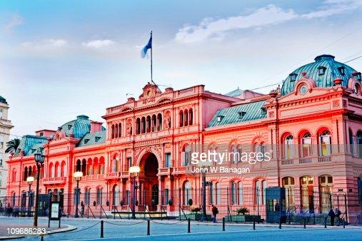 Casa Rosada, (Presidential Palace) ,