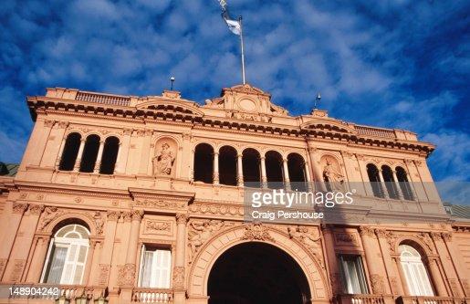 Casa Rosada presidential palace.