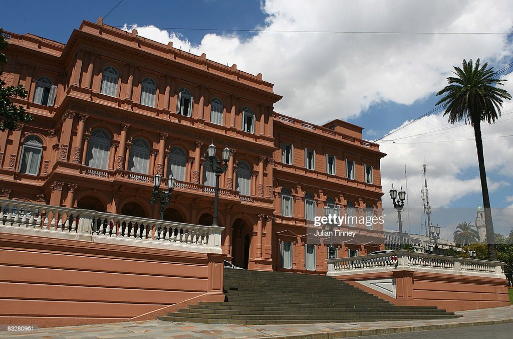 Casa Rosada the President's offices are housed here on February 11 2008 in Buenos Aires Argentina