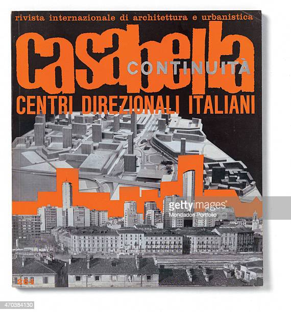 'Casabella N 264 June 1962 20th century Arnoldo Mondadori Editore Milan 28 x 31 cm Whole artwork view Title in orange on a black background with the...