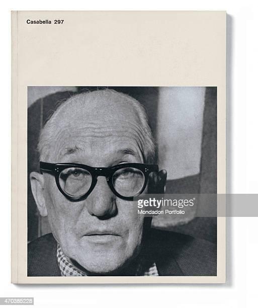 'Casabella No 297 September 1965 20th century Arnoldo Mondadori Editore Milan 28 x 31 cm Whole artwork view Photographic portrait of Le Corbusier...