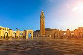 Mosque Hassan II in Casablanca - Morocco,