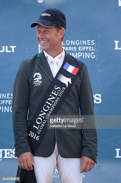 Casall ASK ridden by Rolf Goran Bengtsson during Longines Paris Eiffel Jumping on July 2 2016 in Paris France