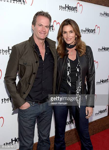 Casamigos cofounder Rande Gerber and model Cindy Crawford attend The Heart Foundation 20th Anniversary Event honoring Discovery Land Company's Mike...