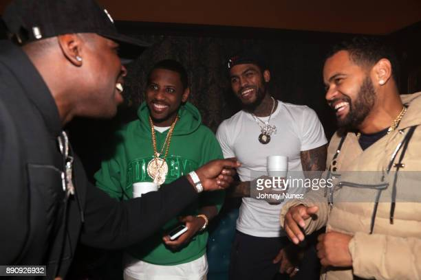 Casanova Fabolous Dave East and Boo Rossini attend the Jeezy 'Pressure' Album Listening Party at Avenue on December 11 2017 in New York City