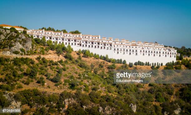 Casares Malaga Province Andalusia southern Spain Apartment complex