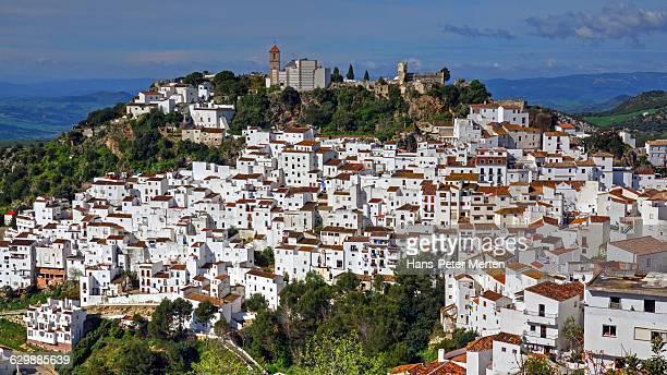 Casares, Malaga province, Andalusia, Spain