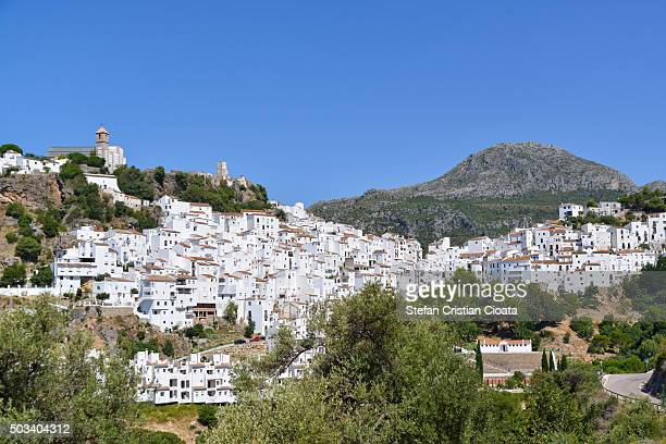 Casares white town at summer