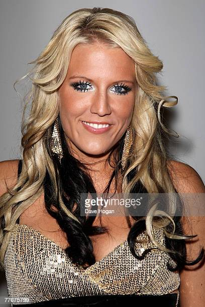 Cascada Lead singer Natalie Horler arrives at the World Music Awards 2007 at the Monte Carlo Sporting Club on November 4 2007 in Monte Carlo Monaco