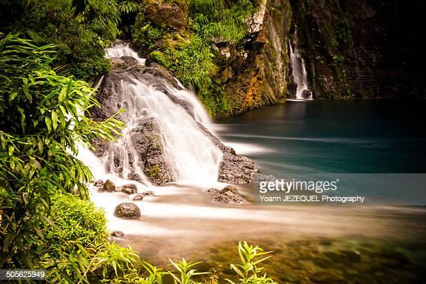 Cascade in the nature of la Réunion island