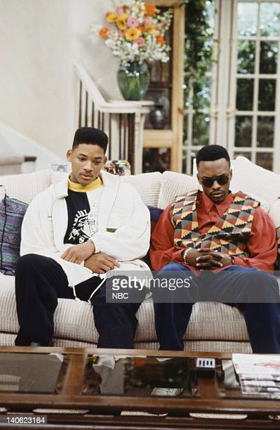 AIR 'Cased Up' Episode 9 Pictured Will Smith as William 'Will' Smith Jeffrey A Townes as Jazz Photo by Alice S Hall/NBCU Photo Bank