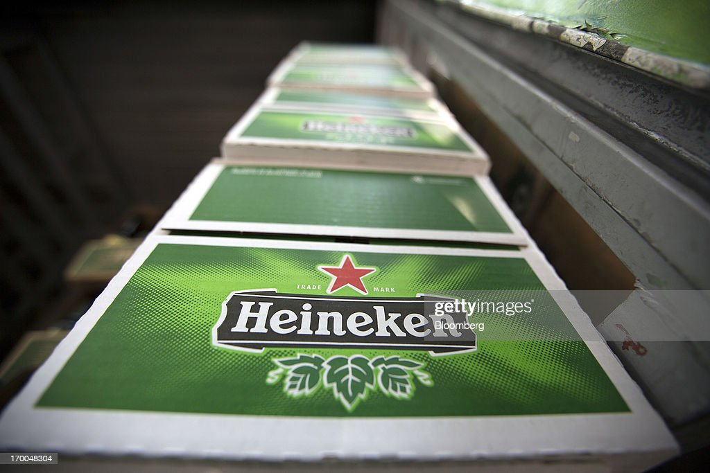 Cases of Heineken NV beer sit in a delivery truck in Mexico City, Mexico, on Thursday, June 6, 2013. Heineken NV and Grupo Modelo SAB, the dominant brewers in Mexico with brands such as Dos Equis and Corona, are nearing the end of an almost three-year-old government antitrust probe. Photographer: Susana Gonzalez/Bloomberg via Getty Images