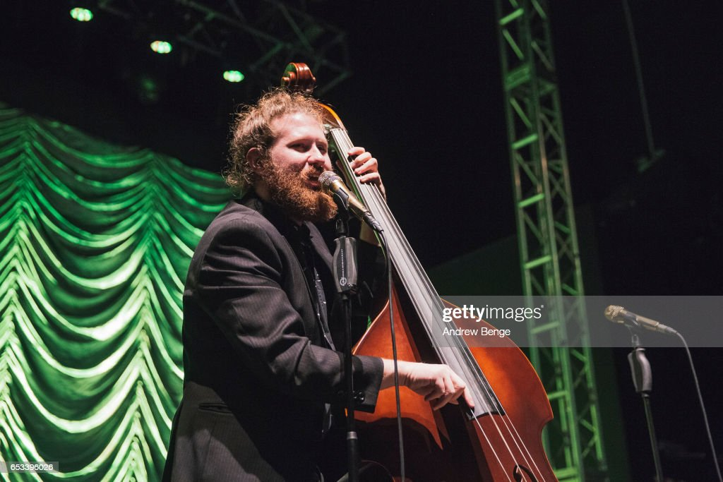 Casey Abrams of Scott Bradlee's Postmodern Jukebox performs at O2 Academy Leeds on March 14, 2017 in Leeds, United Kingdom.