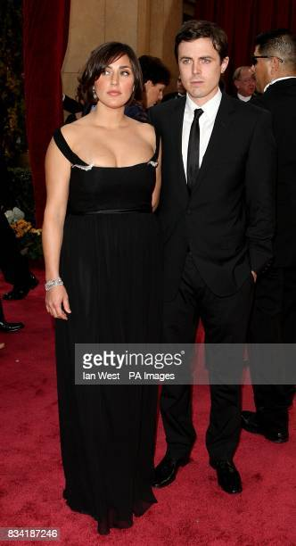 Casey Affleck and Summer Phoenix arrive for the 80th Academy Awards at the Kodak Theatre Los Angeles