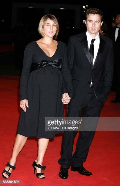 Casey Affleck and Summer Phoenix arrive for the premiere of 'The Assassination of Jesse James' premiere at the Venice Film Festival Italy