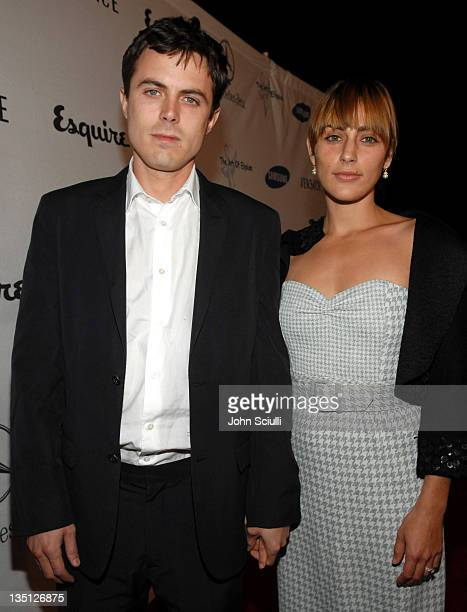 Casey Affleck and Summer Phoenix during Esquire Magazine Unveils the 'Esquire House 360' with an Opening Night Celebration to Benefit 'The Art of...