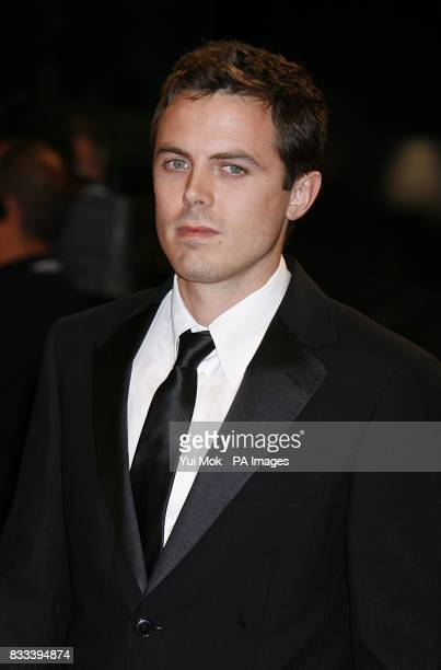 Casey Affleck arrives for the premiere of 'The Assassination of Jesse James' premiere at the Venice Film Festival Italy