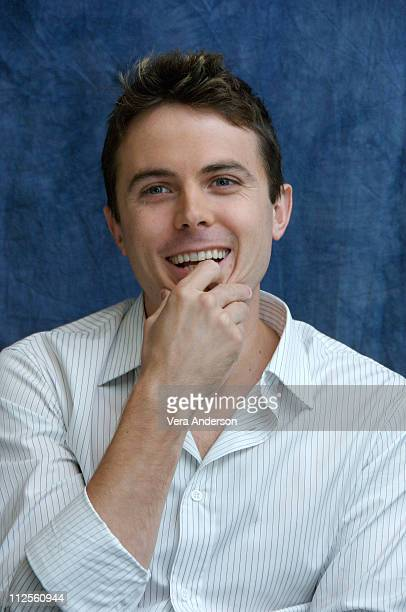 Casey Affleck at the 'Gone Baby Gone' press conference at the Four Seasons Hotel in Beverly Hills California on September 29 2007