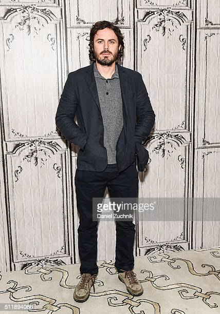 Casey Affleck attends AOL Build to discuss his new film 'Triple 9' at AOL Studios on February 23 2016 in New York City