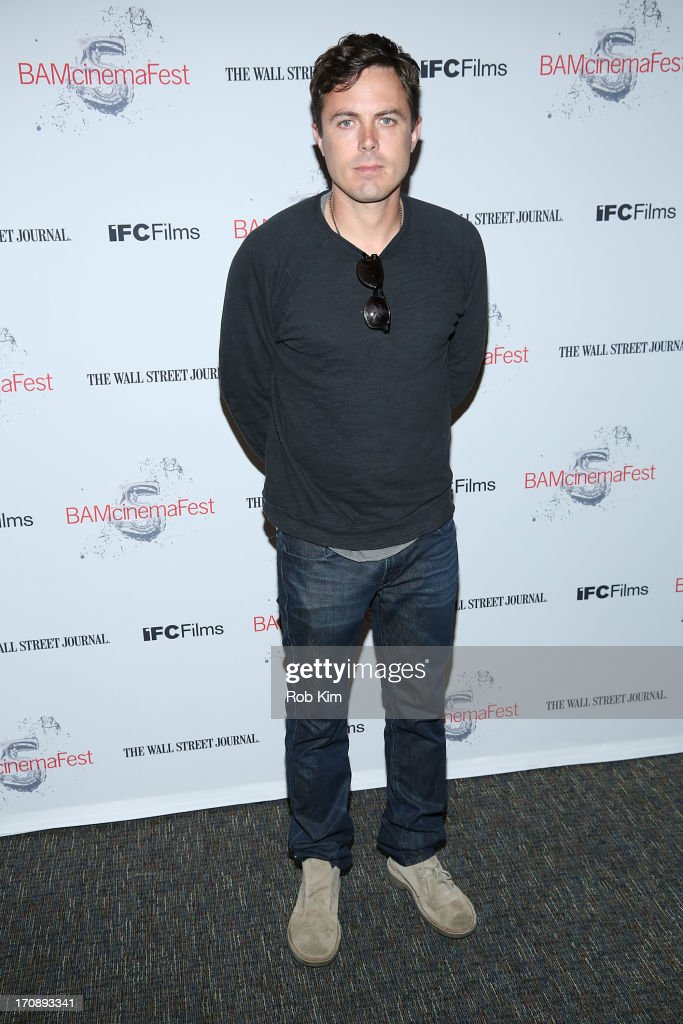 Casey Affleck attends BAMcinemaFest 2013 And The Cinema Society Host The Opening Night Premiere Of 'Ain't Them Bodies Saints' at BAM Harvey Theater...