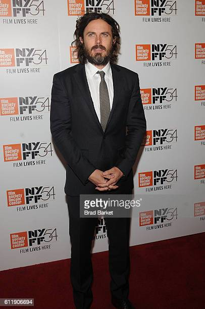 Casey Affleck attends the 54th New York Film Festival 'Manchester by the Sea' World Premiere at Alice Tully Hall at Lincoln Center on October 1 2016...