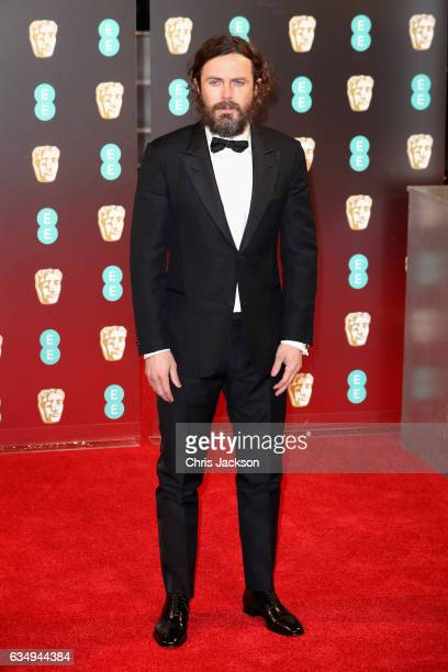 Casey Affleck attends the 70th EE British Academy Film Awards at Royal Albert Hall on February 12 2017 in London England