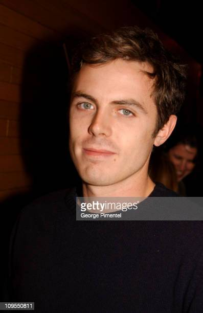 Casey Affleck during 2002 Sundance Film Festival 'The Laramie Project' Premiere at Abravanel Hall in Salt Lake City Utah United States