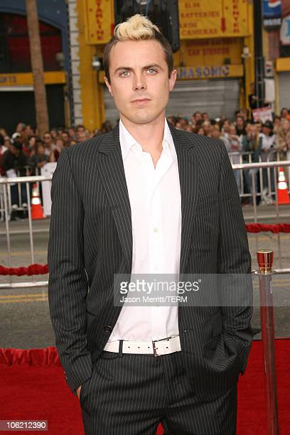 Casey Affleck during 'Ocean's Thirteen' Los Angeles Premiere Arrivals at Grauman's Chinese Theater in Hollywood California United States
